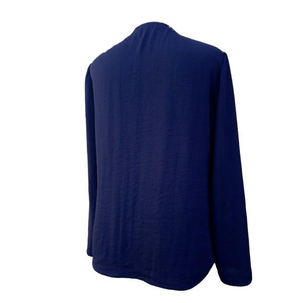 Blusa azul mariño