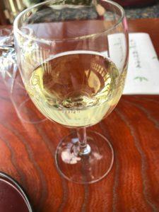 長岡京市錦水亭の白ワイン