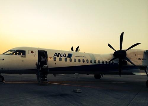 大阪松山飛行機