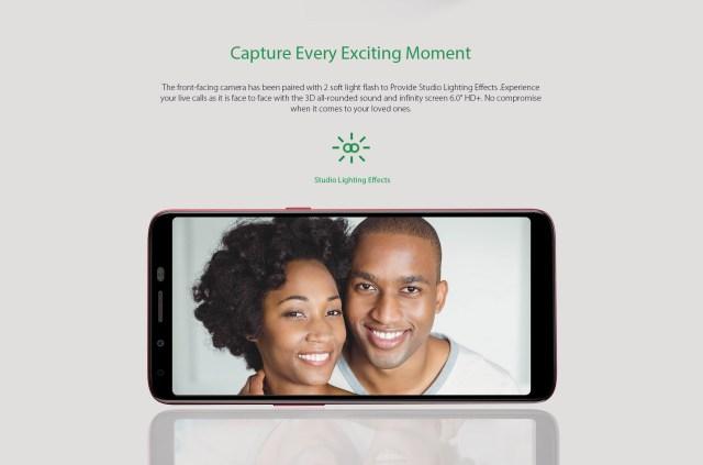 Infinix Hot 6 X606D BG couple 16GB ROM 1GB RAM 13MP 8MP selfie camera
