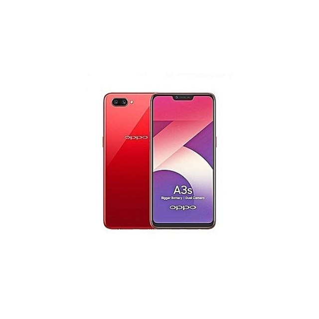 OPPO A3s 2GB 16GB Dual SIM Red Front Back