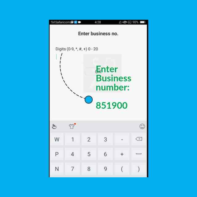 Tala paybill number business number
