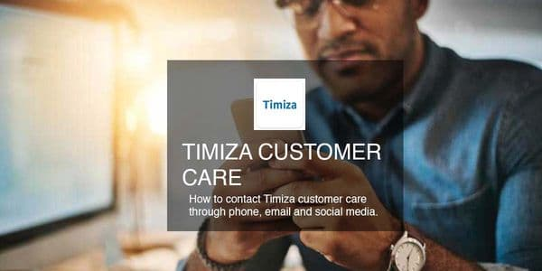 Timiza customer care phone no email