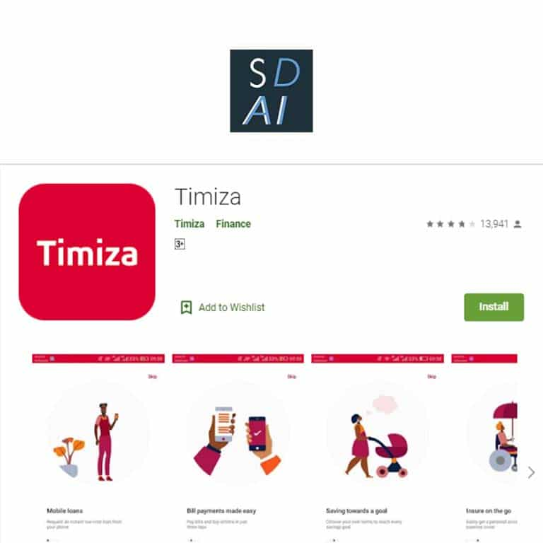 Apply and qualify for a Timiza loan using the app and USSD code