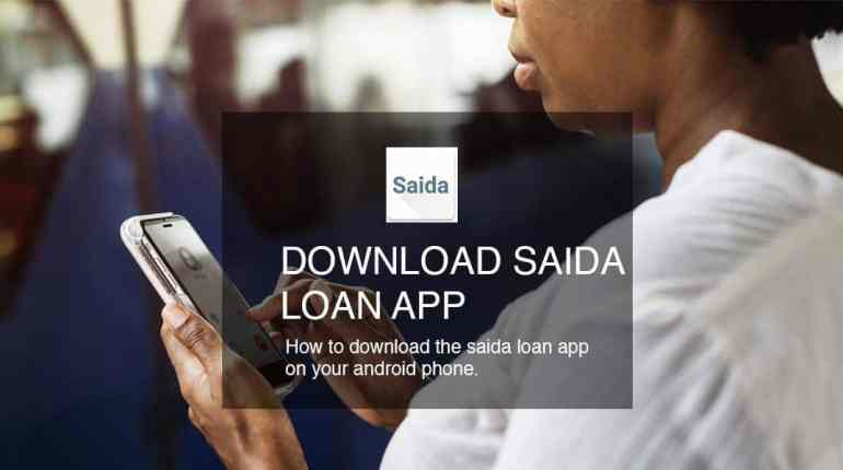Download saida loan app