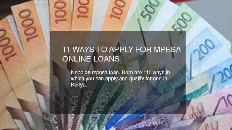 mpesa loans in kenya