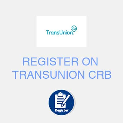 register on transunion crb