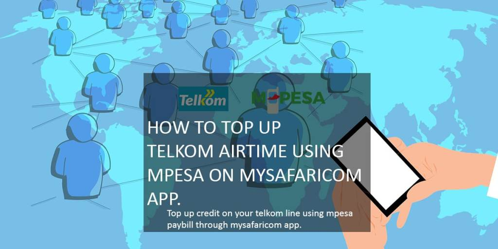 How to top up airtime using mpesa on mySafaricom app