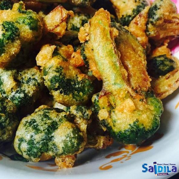 brokoli celup tepung