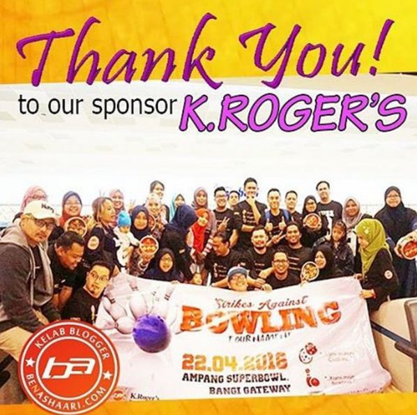 Riadah KBBA9 : Bowling Tournament Bersama K.Rogers Butter Cookies
