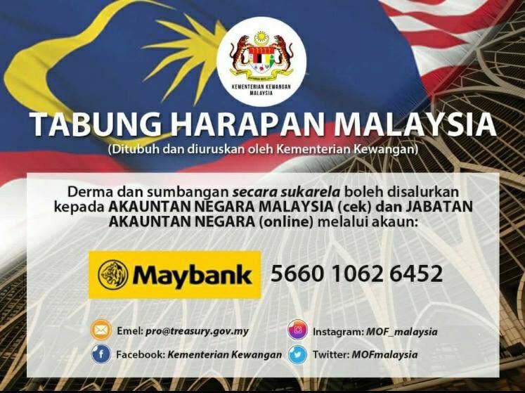 TABUNG HARAPAN RAKYAT MALAYSIA BUKTI RAKYAT PEDULI