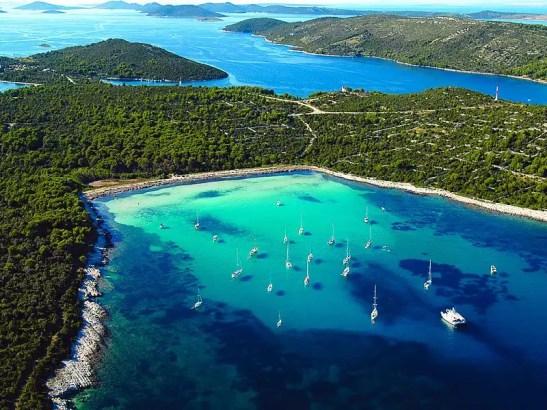 Croazia. Idee vacanze in barca a vela
