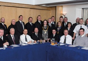 Members attending a recent Scottish SAIF meeting