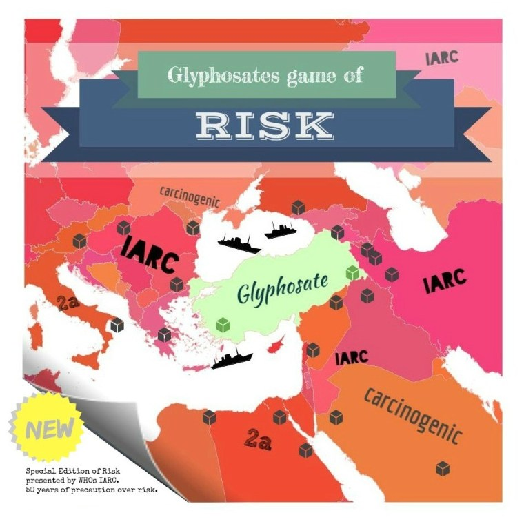 Glyphosate, the new game of RISK