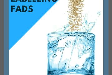 Food Labelling Fads - Gluten free water