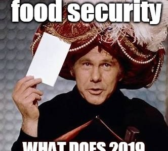 What Does 2019 Hold for Food and Ag?
