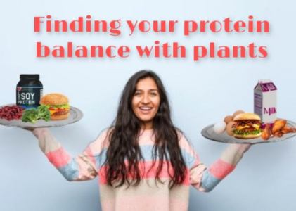 Finding your protein balance with plant options
