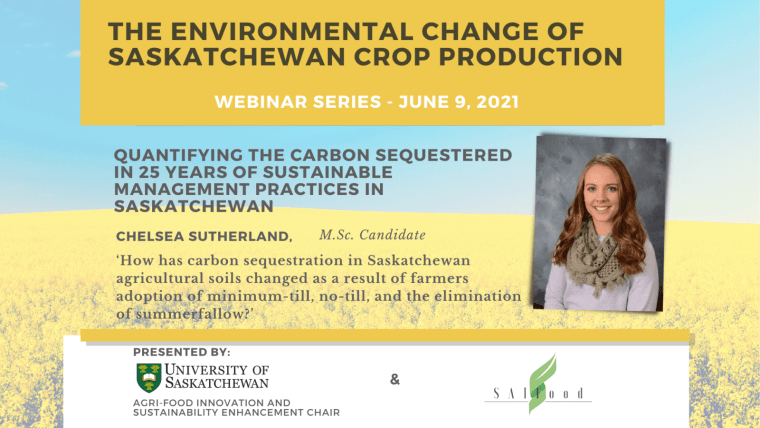 Environment Series: Quantifying the Carbon Sequestered in 25 Years of Sustainable Management Practices in Saskatchewan