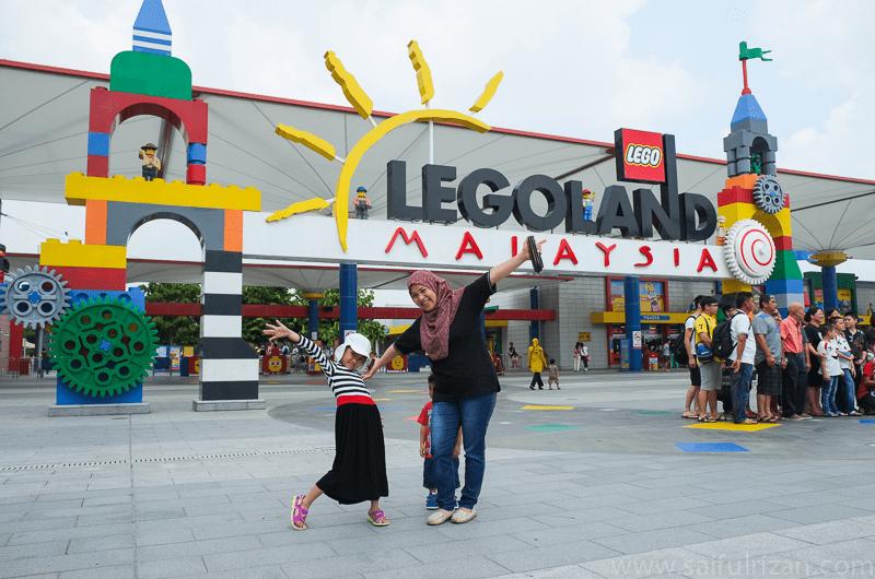 Travelogue : Legoland Johor (Day 1)
