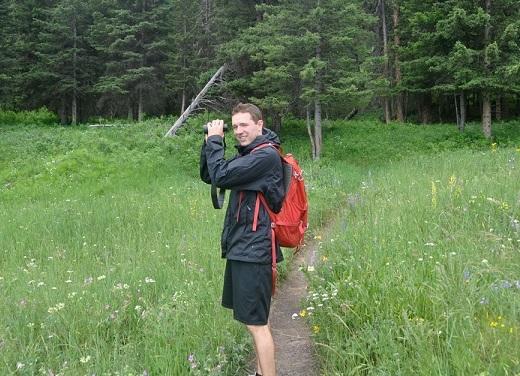 Running for saigas: Sean Denny runs a half marathon for saigas