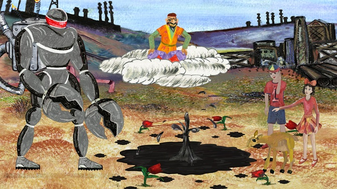New saiga cartoon launched