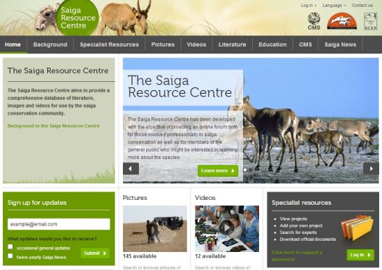 Saiga Resource Centre launched