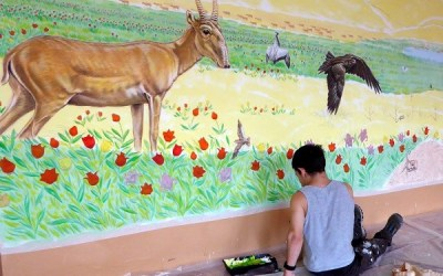 Latest SCA educational mural comes to Kalmykia