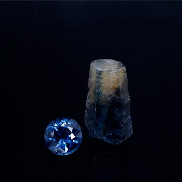 2.14ct sapphire huay xai