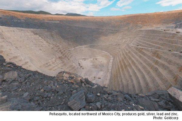 Penasquito goldcorp gold mine