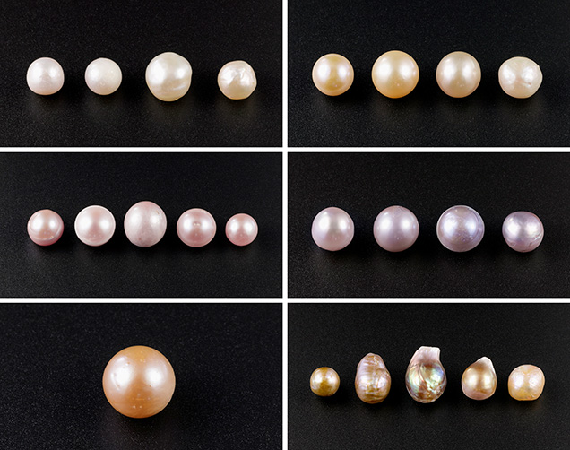 Representative Kasumiga pearls