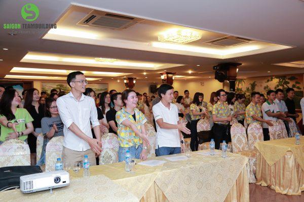 fashion show cho Vpbank phia nam