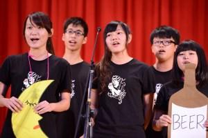 高二英語歌唱賽
