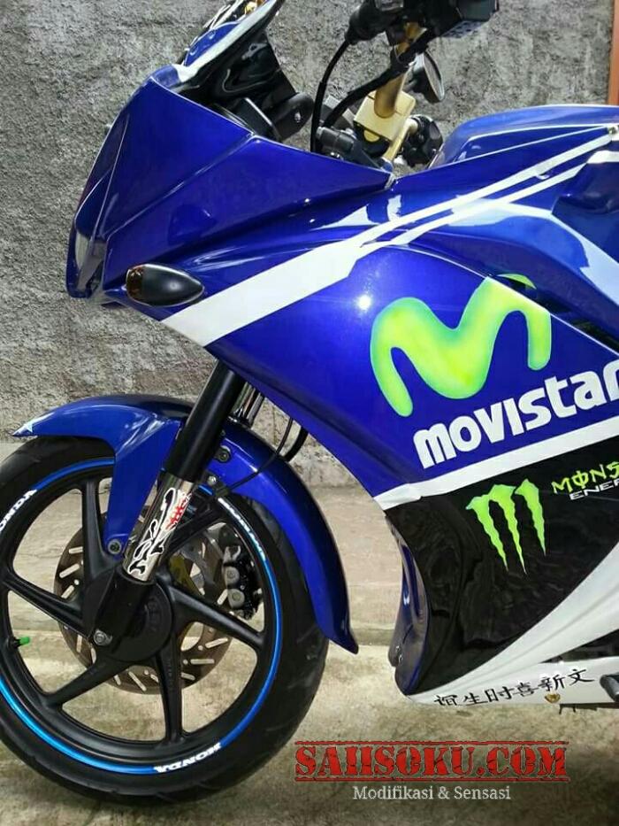 Verza Modif Sport : verza, modif, sport, Modifikasi, Motor, Verza, Ninja
