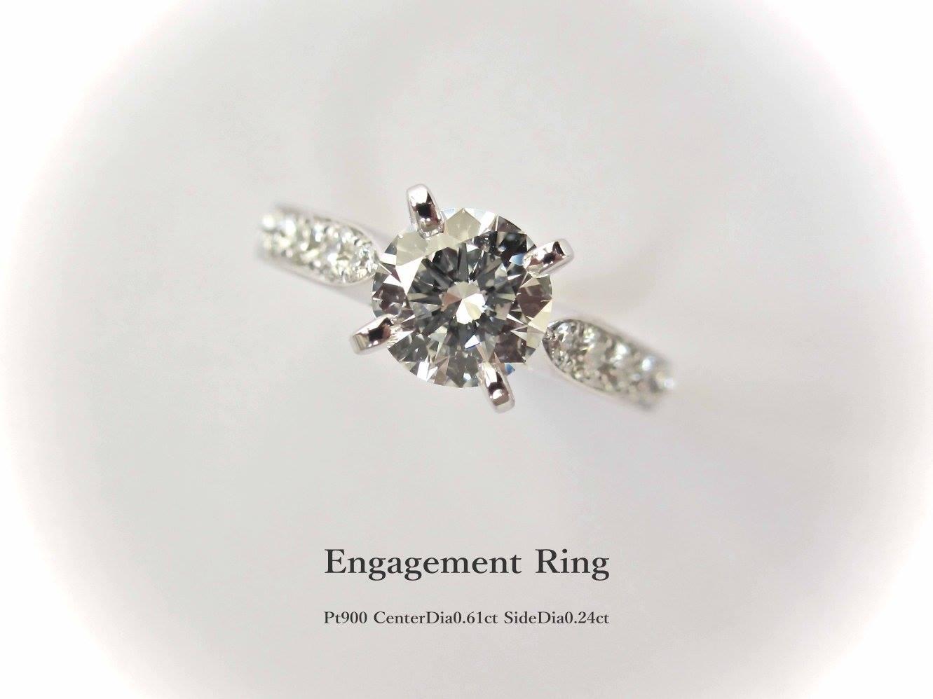 エンゲージリング 婚約指輪 ダイヤモンド