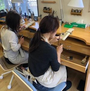 シルバーアクセサリー製作体験 ブローチ|SAIJO|京都/宇治|彫金教室/体験/アクセサリースクール