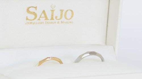 婚約指輪 結婚指輪 オーダーメイドジュエリー 京都 宇治 SAIJO 森拓郎