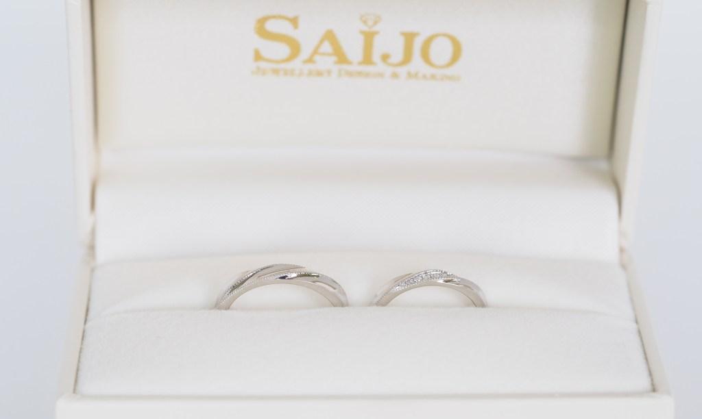 オーダーメイドマリッジリング フルオーダーメイド 結婚指輪 SAIJO 森拓郎