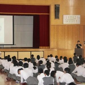 中学校職業講話|SAIJO|京都 宇治|オーダーメイドジュエリー