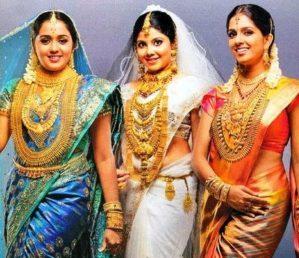Kerala jewellery for weddings