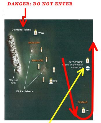 Diamond Island Marks