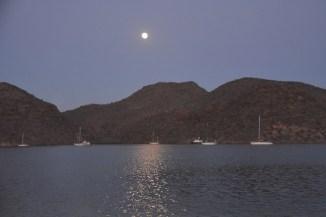 Moonrise over Puerto Escondido