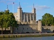 Tower of London as seen from the river