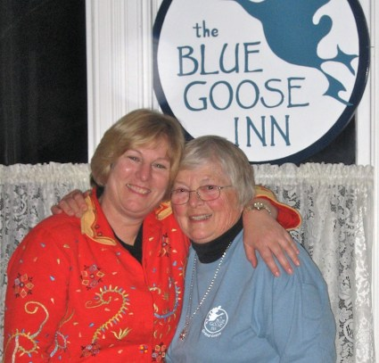 Mom and Sue...job accomplished!
