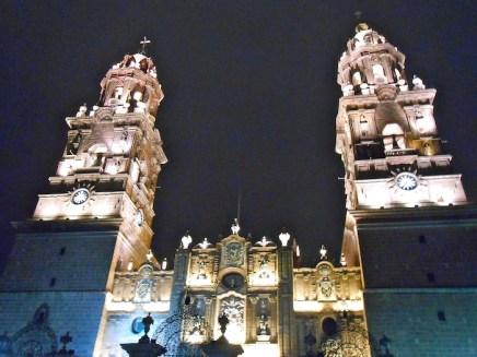 Night lights of Morelia