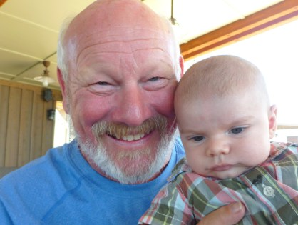 Great Uncle Marty and Zach