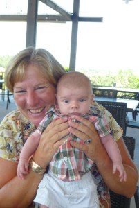 Great Aunt Sue and Zach