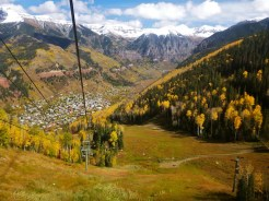 Telluride from the tram
