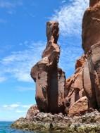 Crazy rock formations