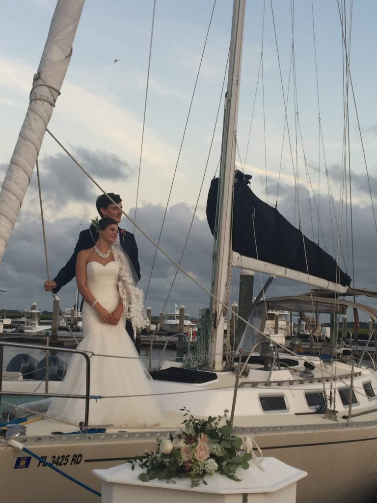 Amelia Island Sailing wedding