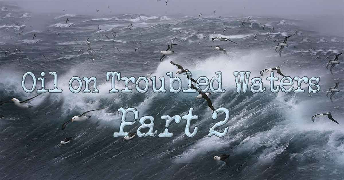 """Ocean storm """"Oil On Troubled Waters Part 2"""" image"""